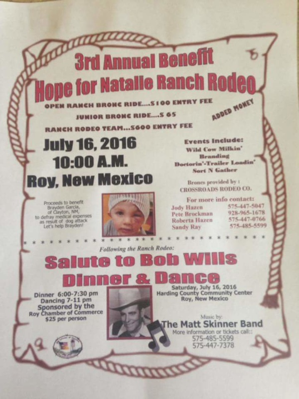 Schedule The Mountain West Rodeo Association
